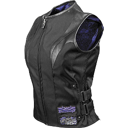 Speed & Strength Women's Wicked Garden Vest - Speed & Strength Women's Moto Lisa Leather Vest