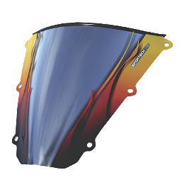 Sportech Flame Series Windscreen - 2005 Kawasaki ZX600 - Ninja ZX-6RR Sportech Shadow Series Windscreen