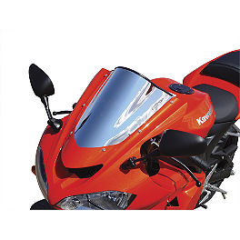 Sportech V-Flow Series Windscreen - Chrome - Sportech Flame Series Windscreen