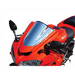 Sportech V-Flow Series Windscreen - Chrome - Motorcycle Windscreens and Accessories