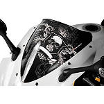 Sportech Royal Windscreen Black - Yamaha Motorcycle Windscreens and Accessories