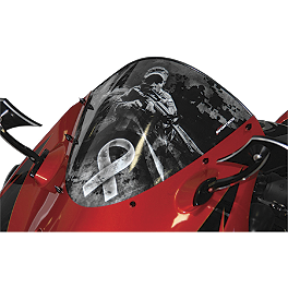 Sportech Ranger Series Windscreen - 2010 Yamaha YZF - R6 Sportech Argyle Series Windscreen
