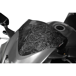 Sportech Twisted Windscreen Black - 2005 Kawasaki ZX600 - Ninja ZX-6RR Sportech Shadow Series Windscreen