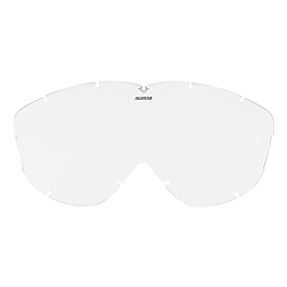 Spy Alloy And Targa Replacement Lens - Spy Alloy And Targa Anti-Fog Lens With Posts - Silver Mirror
