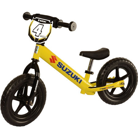 Strider ST-4 No-Pedal Balance Bike - Suzuki Graphics - Main