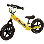 Strider ST-4 No-Pedal Balance Bike - Suzuki Graphics - Dirt Bike Gifts