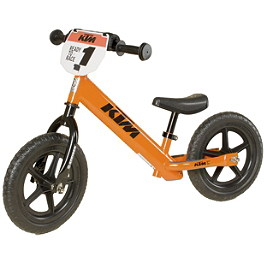 Strider ST-4 No-Pedal Balance Bike - KTM Graphics - Strider No-Pedal Balance Bike - Nitro-Circus