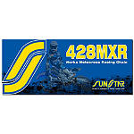 Sunstar 428 MXR1 Works MX Racing Chain - 134 Links - Dirt Bike Chains and Master Links