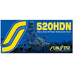 Sunstar 520 HDN Heavy Duty Non-Sealed Chain - 120 Links - 520 Dirt Bike Chains and Master Links