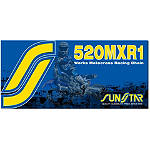 Sunstar 520 MXR1 Works MX Racing Chain - 120 Links - Suzuki DR200SE Dirt Bike Drive