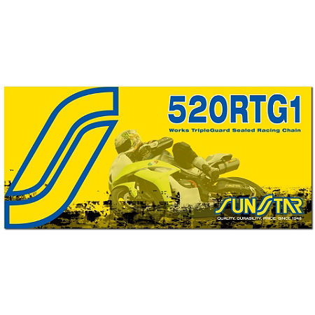 Sunstar 520 RTG1 Works Tripleguard Sealed Racing Chain - 120 Links - Main
