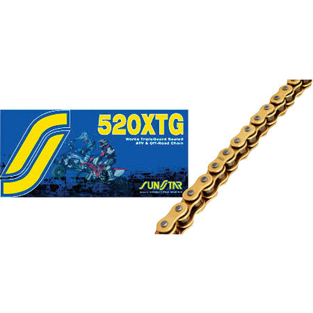 Sunstar 520 XTG Tripleguard Sealed ATV & Offroad Chain - 120 Links - Main