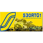 Sunstar 530 RTG1 Works Tripleguard Sealed Racing Chain - 120 Links -  Cruiser Drive Train