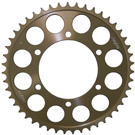Sunstar Aluminum Rear Sprocket 520 - 2010 Kawasaki EX650 - Ninja 650R Renthal Rear Sprocket 520