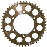 Sunstar Aluminum Rear Sprocket 520 - Suzuki GSX-R 600 Motorcycle Drive