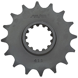 Sunstar Front Sprocket 520 - Sunstar Steel Rear Sprocket 520