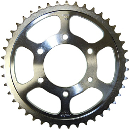 Sunstar Steel Rear Sprocket 525 - 2008 Suzuki SV650 ABS Vortex Sprocket & Chain Kit 525 - Silver