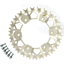 Sunstar Works-Z Rear Sprocket - 2000 KTM 400MXC Sunstar Aluminum Rear Sprocket