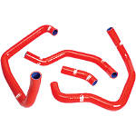 Samco Sport Radiator Hose Kit - Red