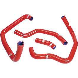 Samco Sport Radiator Hose Kit - 2011 Aprilia RSV4 Factory Akrapovic Slip-On Exhaust - Carbon Fiber