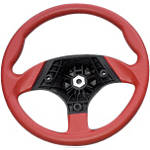 Yamaha Genuine OEM Sport Steering Wheel - Red - Utility ATV Bars and Controls