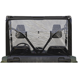 Yamaha Genuine OEM Rear Window - Classic Accessories UTV Rear Window - Black