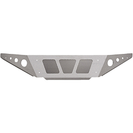 Yamaha Genuine OEM Front Grab Bar Shield - Silver - Yamaha Genuine OEM Front Grab Bar Shield - Gray