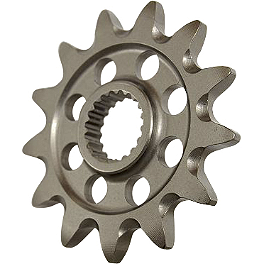 Supersprox Front Sprocket - 2007 Kawasaki KLR650 Rekluse Z-Start Pro Clutch Kit