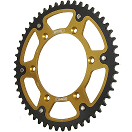 Supersprox Stealth Rear Sprocket - EK Chains 520 MVXZ X-Ring Chain - 120 Links
