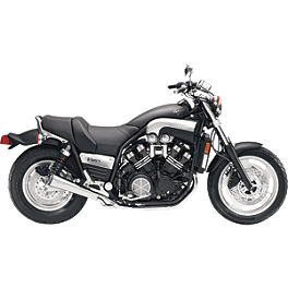 SuperTrapp Megaphone Series Slip-On Exhaust - 1995 Yamaha VMAX 1200 - VMX12 Kerker K-Series Slip-On