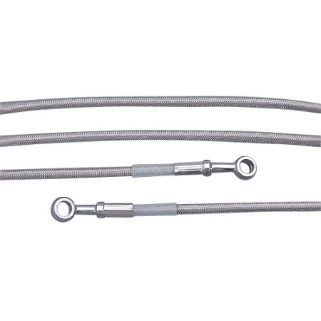 Yamaha Star Accessories Braided Stainless Steel Clutch Line - Main