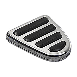 Yamaha Star Accessories Billet Brake Pedal Cover - 2007 Yamaha V Star 1300 Tourer - XVS13CT Yamaha Star Accessories Classic Deluxe Saddlebags - Plain
