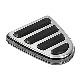 Yamaha Star Accessories Replacement Rubber Inserts For Billet Brake Pedal Cover - 2002 Yamaha Road Star 1600 - XV1600A Yamaha Star Accessories Silverado Saddlebags