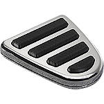 Yamaha Star Accessories Replacement Rubber Inserts For Billet Brake Pedal Cover -  Cruiser Controls