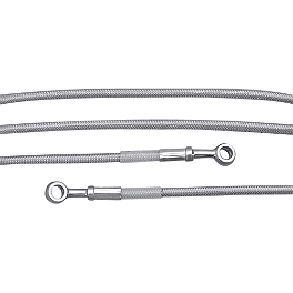 Yamaha Star Accessories Braided Stainless Steel Clutch Line - Yamaha Star Accessories Braided Stainless Steel Throttle Cable Set