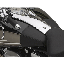 Yamaha Star Accessories Mini Tank Cover - 2007 Yamaha Roadliner 1900 - XV19 Yamaha Star Accessories Braided Stainless Steel Clutch Line