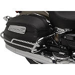 Yamaha Star Accessories Hard Leather Saddlebag Trim Rails -  Cruiser Saddle Bags
