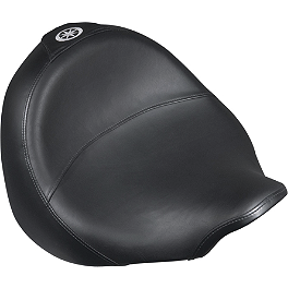 Yamaha Star Accessories Comfort Cruise Solo Seat - Danny Gray Bigseat - Plain