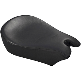 Yamaha Star Accessories Comfort Cruise Tour Pillion Pad - Danny Gray Standard Passenger Bigseat - Studded