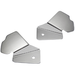 Yamaha Star Accessories Billet Frame Inserts - Smooth - Yamaha Star Accessories Mini Fairing
