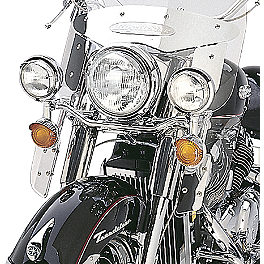 Yamaha Star Accessories Replacement Light Bulb - Passing Lamps - Yamaha Star Accessories Tear Drop Ball Milled Billet Mirrors - Left