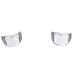 Yamaha Star Accessories Passing Light Visors - Chrome Plated - 2007 Yamaha V Star 650 Classic - XVS65A Yamaha Star Accessories Classic Deluxe Saddlebags - Plain