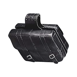 Yamaha Star Accessories Slant Star Saddlebags - Yamaha Star Accessories Classic Saddlebags