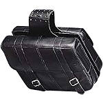Yamaha Star Accessories Slant Star Saddlebags -  Cruiser Saddle Bags