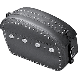 Yamaha Star Accessories Saddlebags - Studded - 2011 Yamaha Road Star 1700 Silverado S - XV17ATS Yamaha Star Accessories Medium Silverado Windshield Assembly