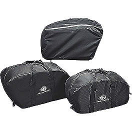 Yamaha Star Accessories Saddlebag Rain Covers - Yamaha Star Accessories Travel Trunk Wing with Light - Liquid Silver