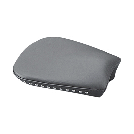 Yamaha Star Accessories Comfort Cruise Studded Tour Pillion Pad - Yamaha Star Accessories Passenger Backrest Pad - Studded