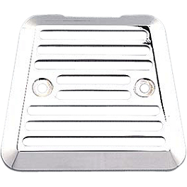 Yamaha Star Accessories Billet Rectifier Cover - Smooth - 2004 Yamaha Road Star 1700 Silverado - XV17AT Yamaha Star Accessories Medium Silverado Windshield Assembly