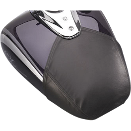 Yamaha Star Accessories Mini Tank Cover - 2011 Yamaha V Star 650 Custom - XVS65 Yamaha Star Accessories Classic Deluxe Saddlebags - Plain
