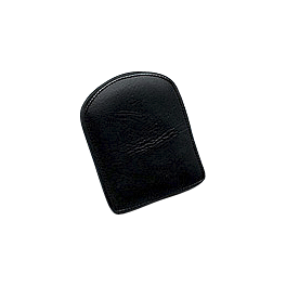 Yamaha Star Accessories Standard Studded Backrest Pad - 2008 Yamaha V Star 1300 Tourer - XVS13CT Yamaha Star Accessories Hard Leather Saddlebags